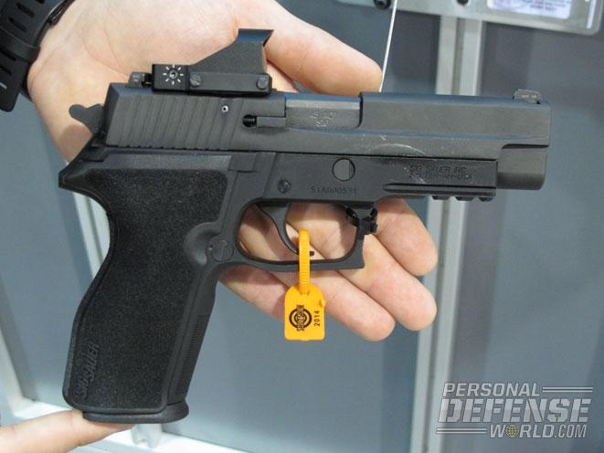 Sig Sauer P227, reflex sights, handguns