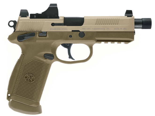 handguns, FNX-45 Tactical, FN, FNH USA, FN reflex sights, reflex sights