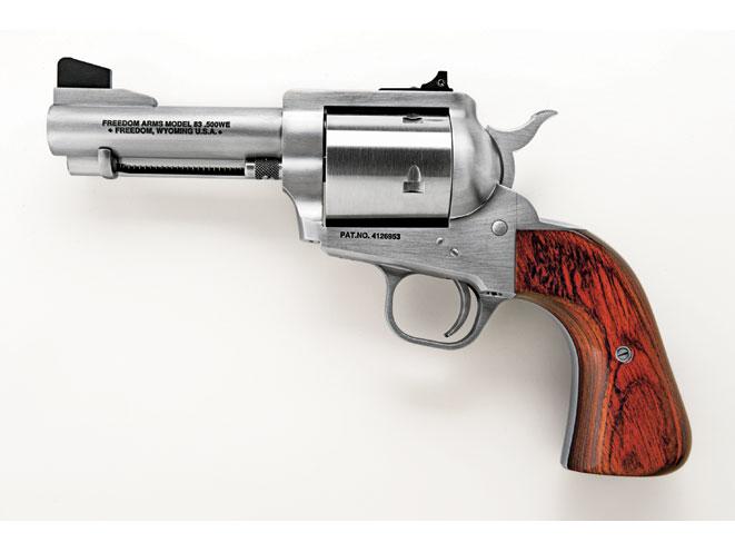 revolvers, revolver, big-bore revolvers, FREEDOM ARMS MODEL 83 (FIXED SIGHTS)