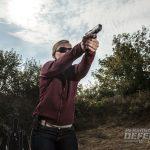 gun training, training, shooting range training, shooting training, bullseye, bullseye training