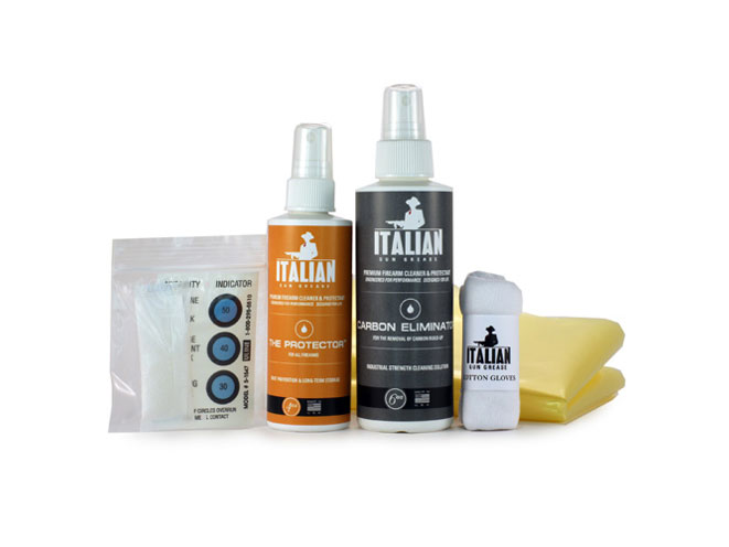 italian gun grease, italian gun grease long term protection kit, italian gun grease gun cleaning, italian gun grease gun care, long term protection kit