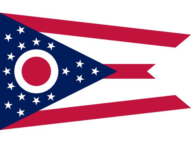 Ohio Flag, ohio concealed carry, ohio hunting suppressors