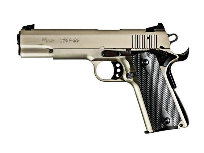 SIG SAUER 1911-22, sig sauer, sig sauer handgun