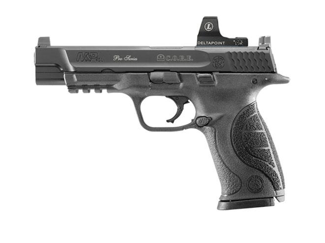 Smith & Wesson Pro Series C.O.R.E. M&P40L, smith wesson, handguns, reflex sights