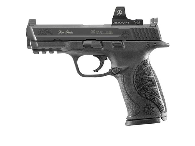 Smith & Wesson Pro Series C.O.R.E. M&P40, reflex sights, handguns, reflex sights, smith wesson handgun, smith wesson reflex sight