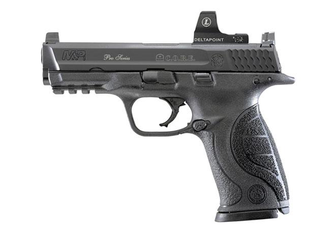 Smith & Wesson Pro Series C.O.R.E. M&P9, handguns, reflex sights, reflex