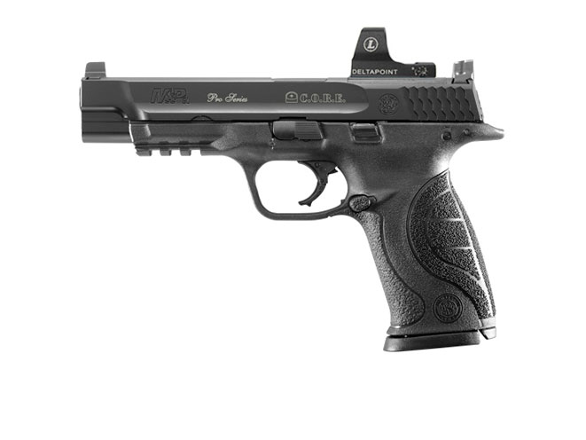 Smith & Wesson Pro Series C.O.R.E. M&P9, smith wesson reflex, reflex sights, handguns