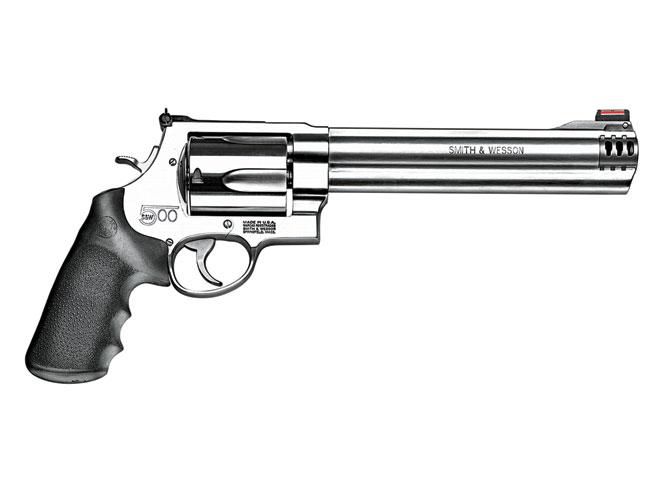 revolvers, revolver, big-bore revolvers, SMITH & WESSON MODEL S&W500