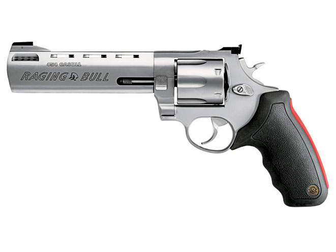 revolvers, revolver, big-bore revolvers, TAURUS MODEL 454 RAGING BULL