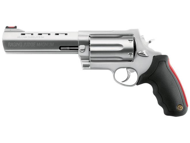 revolvers, revolver, big-bore revolvers, TAURUS MODEL 513 RAGING JUDGE