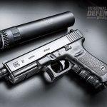 Glock G21 SF TB threaded Barrel
