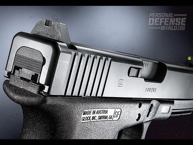 Glock TB pistol sights