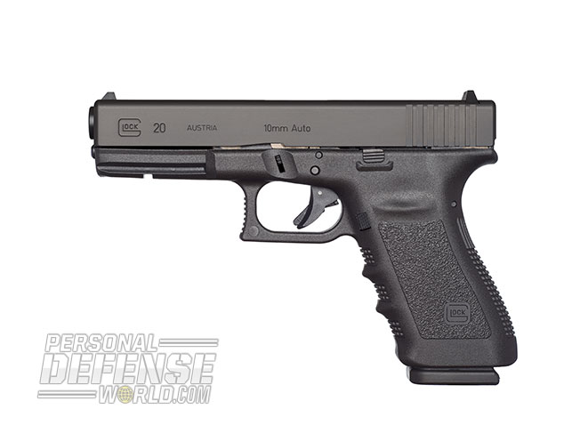 Glock 2015 buyers guide 10 mm G20SF Gen3