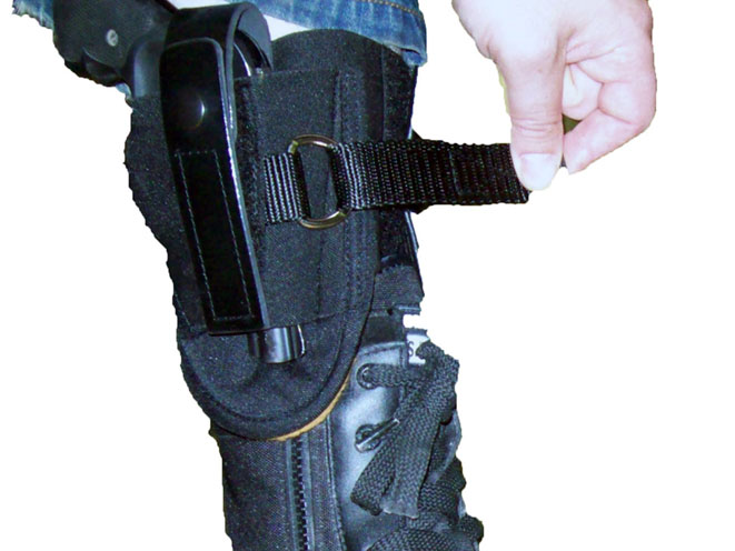 blue stone safety, Blue Stone Safety's Undercover Ankle Holster with D-Ring