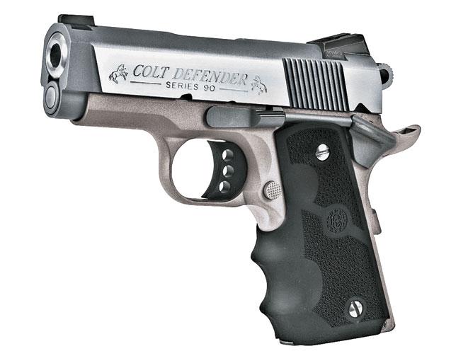 colt, colt defender, compact handguns, concealed carry