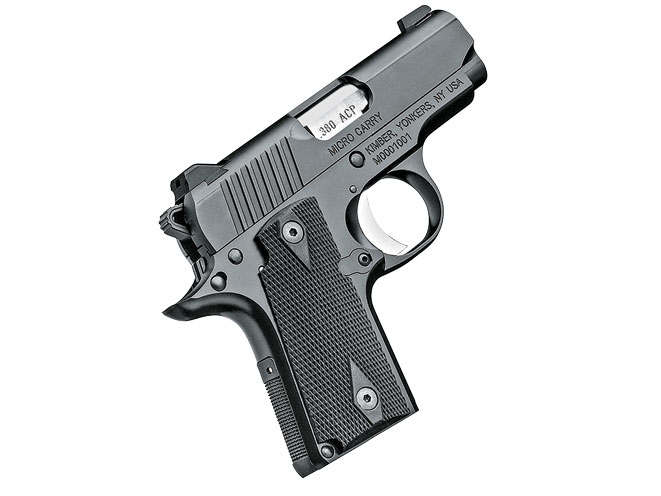 Kimber Micro Carry, concealed carry, compact carry, compact handguns