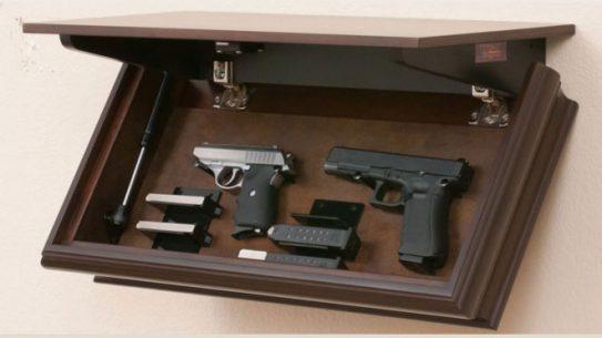 """LedgeLocker's 24"""" X 12"""" Mechanized Shelf, ledgelocker"""