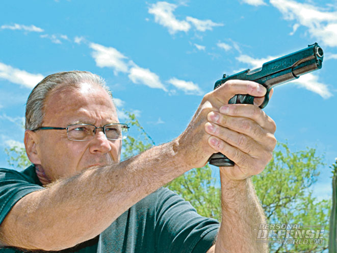 """""""…the Expert possesses more than adequate accuracy for defense and competition use! I was downright impressed with this economy-priced pistol's precision."""""""
