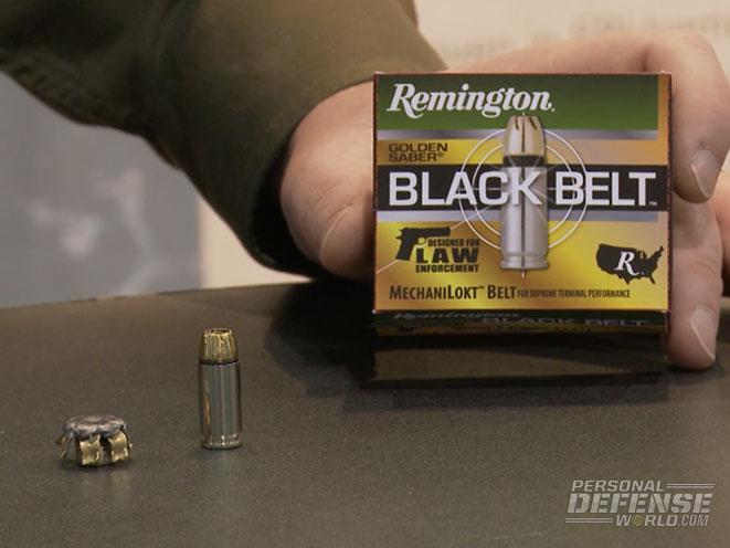 remington, remington golden saber black belt, golden saber black belt