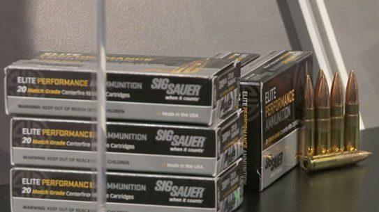 Sig Sauer Elite Performance Ammo, sig sauer, elite performance ammo, elite performance ammunition