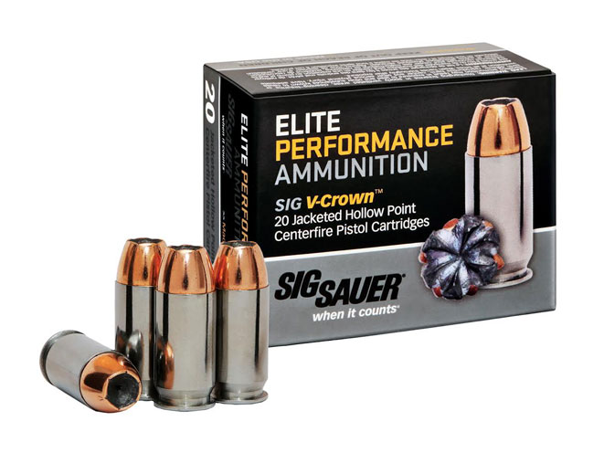 Sig Sauer Elite Performance Ammunition, sig sauer, elite performance ammunition