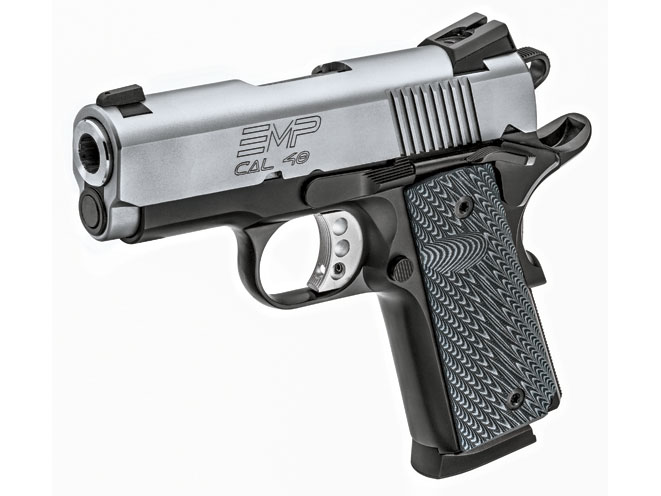 Springfield EMP, Springfield EMP concealed carry, concealed carry, compact handguns