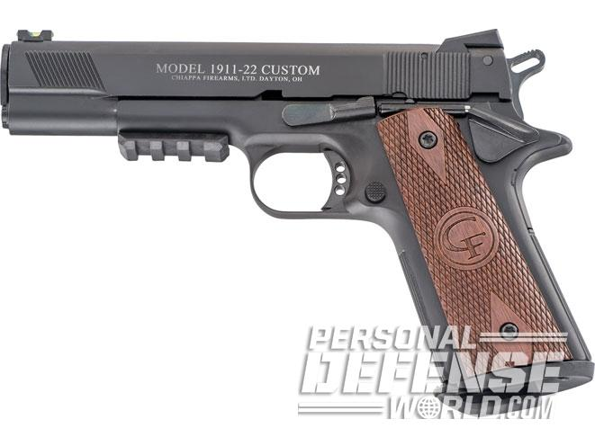 1911, 1911 pistols, 1911 guns, 1911 gun, concealed carry, Chiappa 1911-22 Custom