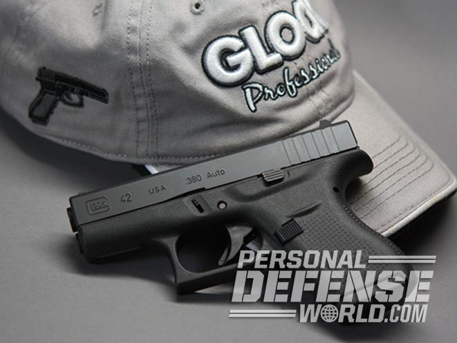 GLOCK 42, glock, glock gun, glock 42 pistol, glock concealed carry