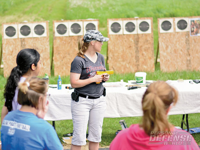 Sara Ahrens learned early on in her LE career how great GLOCKs are, and has carried that appreciation over to her training classes.