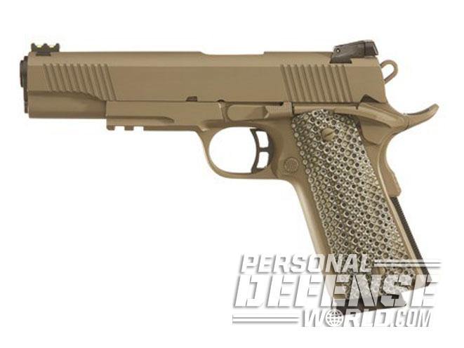 1911, 1911 pistols, 1911 guns, 1911 gun, concealed carry, Taylor's Tactical Custom Dark Earth