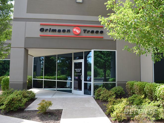crimson trace, crimson trace headquarters, crimson trace lasers