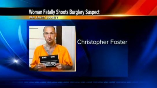 East Texas Intruder, intruder, christopher ray foster