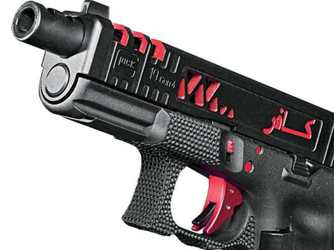 combat handguns, pyramid trigger, pyramid trigger system