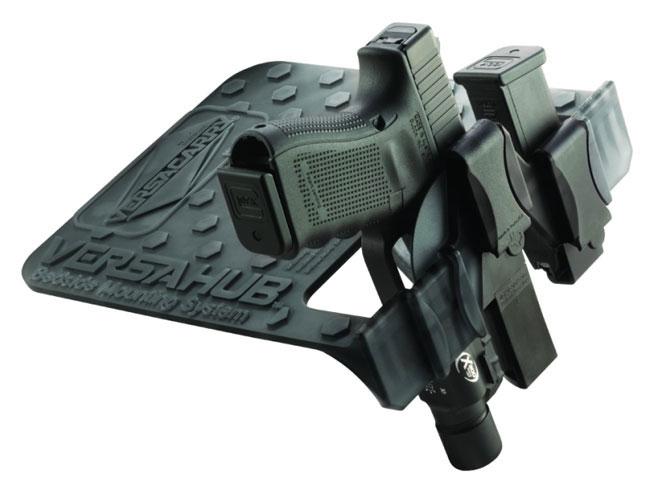complete book of handguns, versahub, versacarry, versahub bedside mounting system