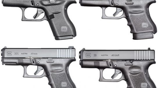 8 subcompact glocks for personal security