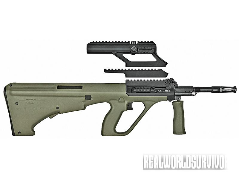 bullpup shotgun, bullpup rifle,  Steyr AUG A3 M1