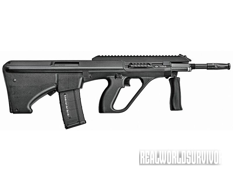 bullpup rifle, bullpup shotgun,  Steyr AUG/ A3 SA NATO