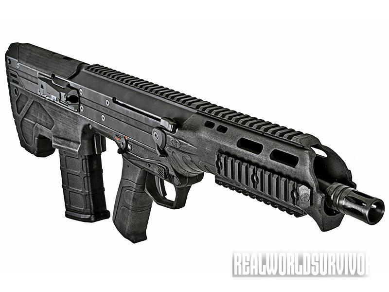 bullpup rifle, bullpup shotgun,  Desert Tech MDR