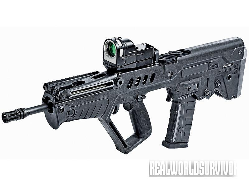 bullpup rifle, bullpup shotgun, IWI TAVOR SAR-IDF IDF16