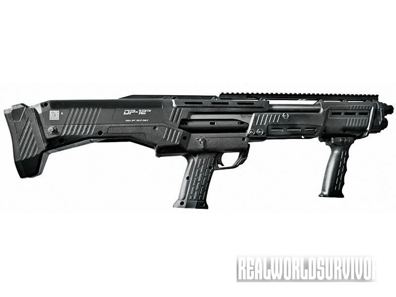 bullpup shotgun, bullpup rifle, Standard MFG. Co. DP-12