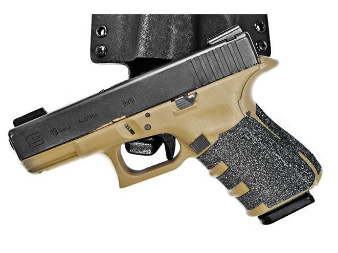 combat handguns, new products, remora, steel will, talon grips, glock, republic forge, tetra gun