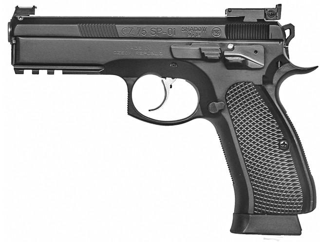 3-gun, 3-gun rifles, 3-gun pistols, 3-gun shotguns, 3 gun, 3-gun competition, CZ 75 SP-01 SHADOW TARGET II