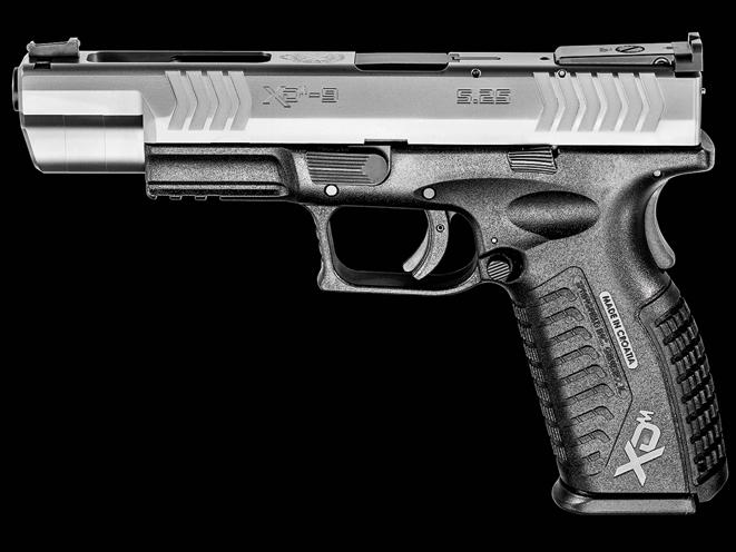 3-gun, 3-gun rifles, 3-gun pistols, 3-gun shotguns, 3 gun, 3-gun competition, SPRINGFIELD ARMORY XD(M) COMPETITION SERIES