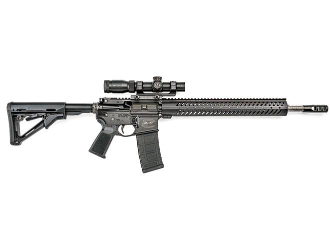 3-gun, 3-gun rifles, 3-gun pistols, 3-gun shotguns, 3 gun, 3-gun competition, colt model pro crp-18