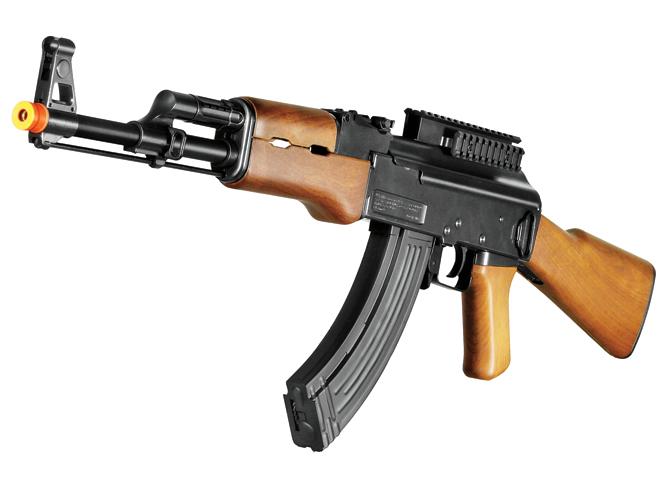 air gun, airgun, airsoft, air rifle, airguns, air guns, UTG Sport AK47 Tactical WarHawk Airsoft AEG Rifle