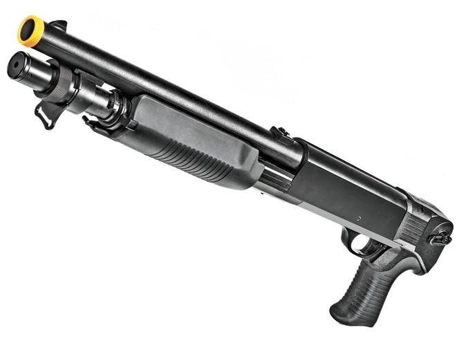air gun, airgun, airsoft, air rifle, airguns, air guns, UTG Multi-Shot Combat Commando Shotgun