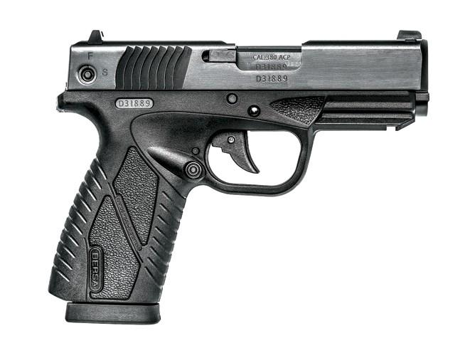 bersa, bersa pistols, bersa gun, bersa concealed carry, bersa bp380cc profile