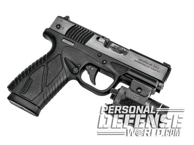 bersa, bersa pistols, bersa gun, bersa concealed carry, bersa bp40cc streamlight