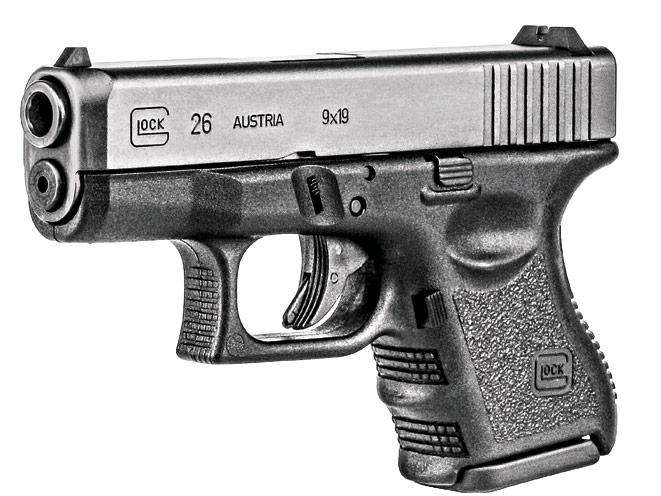 glock, glocks, glock self-defense, glock 26 profile, concealed carrier