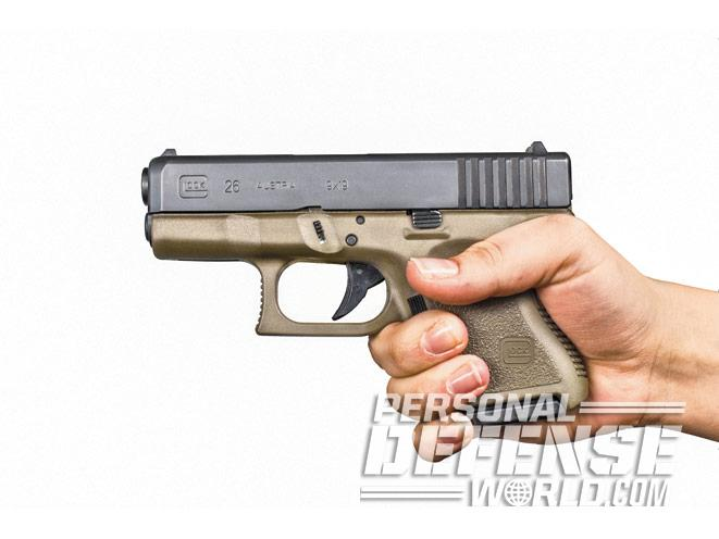 glock, glocks, glock self-defense, glock 26 left